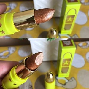 NWT Jeffree Star Brown Sugar glittery lipstick